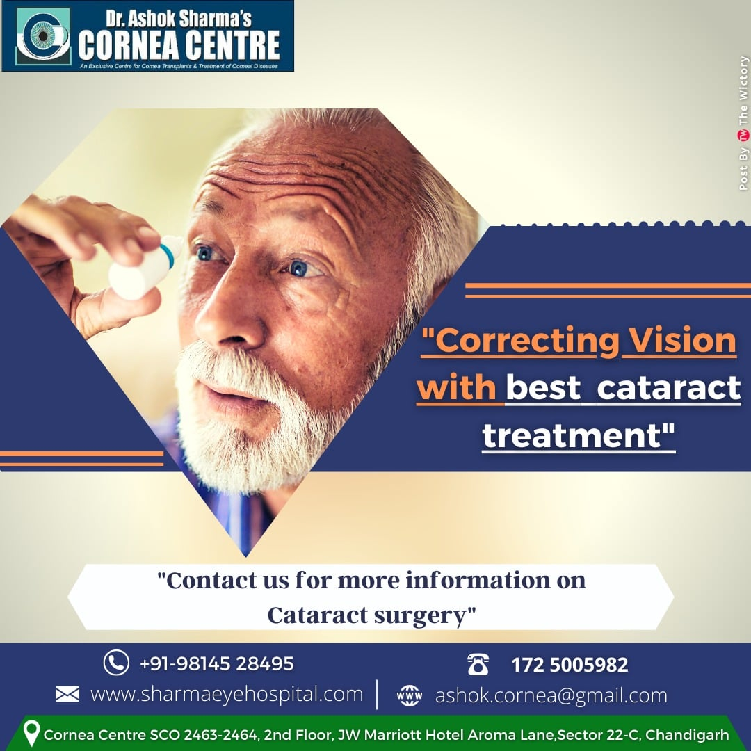 Correcting Vision with Best Cataract Treatment